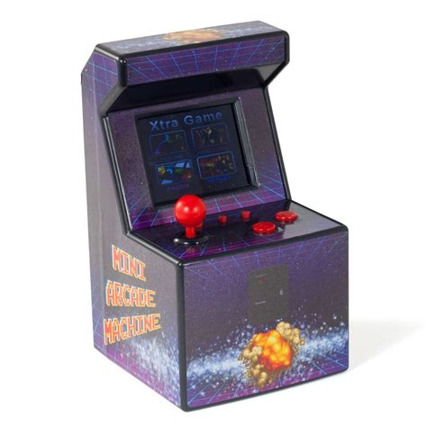Mini Desktop Arcade Machine With 240 Retro Games Built In