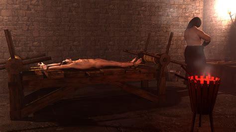 naked rack torture exploited pic
