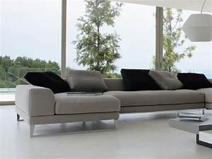 canape contemporain cuir blanc canape idees de With canape cuir blanc contemporain