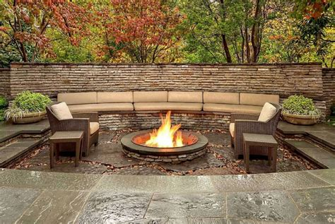 Outdoor Living Areas, Fire Pits & Walkways – Landscaping