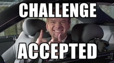 Challenge Accepted Meme Generator - category laughfrodisiac