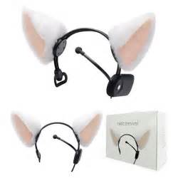 brainwave cat ears necomimi brainwave reading cat ear headband gadgetsin