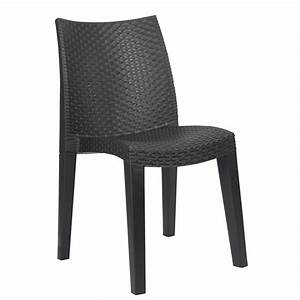 Chaise Pas Cher Gifi : chaise de jardin plastique ~ Teatrodelosmanantiales.com Idées de Décoration