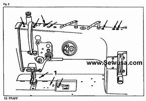 Pfaff 1245 1246 Instruction Manual