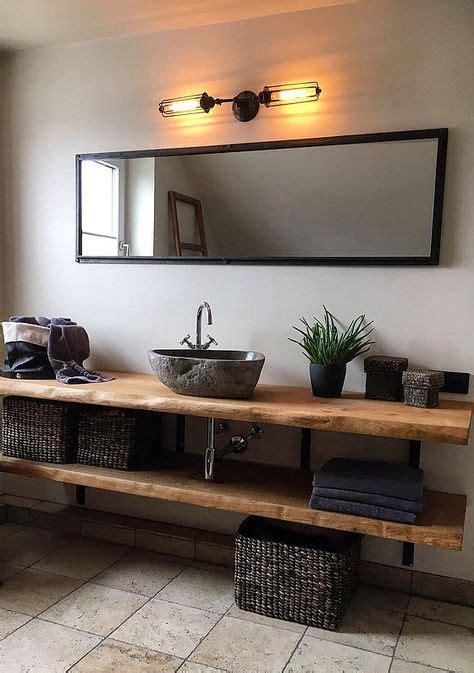 Badezimmermöbel Westwing by Waschtischplatte Eichenholz Naturkante Massiv Ideen In