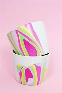 Basteln Mit Nagellack : diy tassen mit nagellack marmorieren sp lmaschinenfeste anleitung diy basteln selbermachen ~ Somuchworld.com Haus und Dekorationen