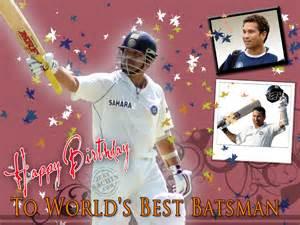 Happy Birthday Sachin Sachin Tendulkar