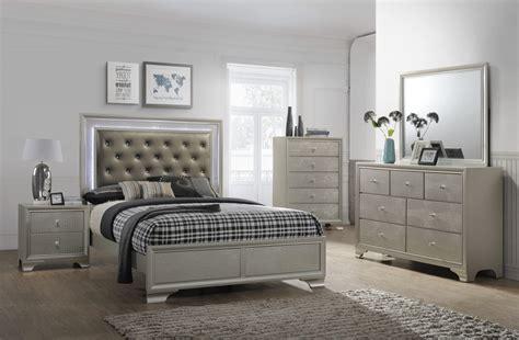 Bed Dresser Set by Nikola Bedroom Set Dresser Mirror Bed 4300