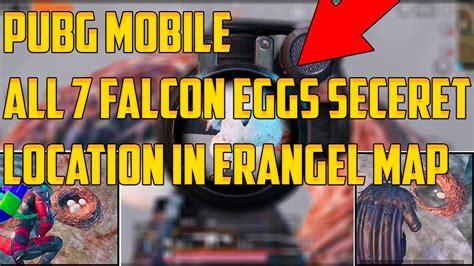 pubg mobile   companion falconeagle eggs secrets