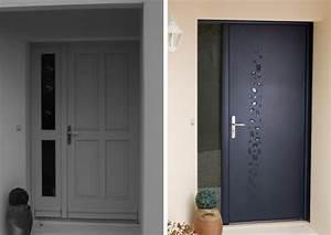 Porte Entrée Aluminium Rénovation : r novation porte d 39 entr e aluminium galet bel 39 m ~ Premium-room.com Idées de Décoration