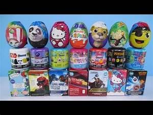 Chocolate Surprise Eggs Star Wars Hello Kitty Shopkins ...