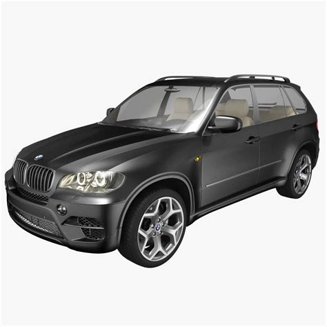 Bmw X5 Models by Bmw X5 3d Model Max Cgtrader