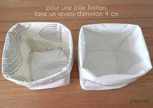 Panier Rangement Bébé Tissu : diy les paniers de rangement en tissu ~ Dailycaller-alerts.com Idées de Décoration