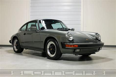 green porsche 911 1987 porsche 911 granite green 50 361 miles sloan cars