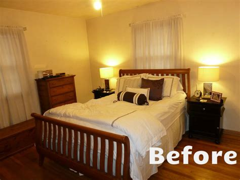 bedroom makeover before and after before and after bedroom makeovers photos and video wylielauderhouse com