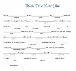 Mad Libs Baby Shower by Epic Road Trip Mad Libs Preferred Motorcoach
