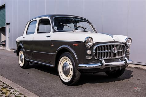 Fiat 1100 For Sale by Classic 1956 Fiat 1100 103 Turismo Veloce Berlina For Sale