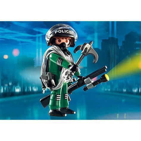 Playmobil Special Figurine   Swat Officer