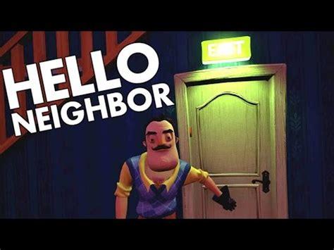 hello neighbour secret gun ending and burning doovi