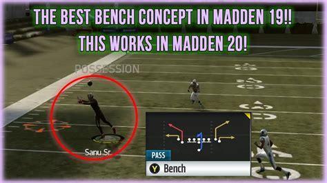 madden bench play