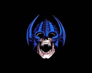 Nordic Skull by robotifux on DeviantArt