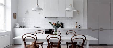 Skandināvu stils krēmīgos toņos - Skandināvu Virtuves