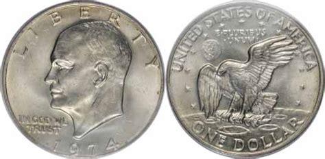 specifications eisenhower silver dollars 1974 eisenhower dollar values facts