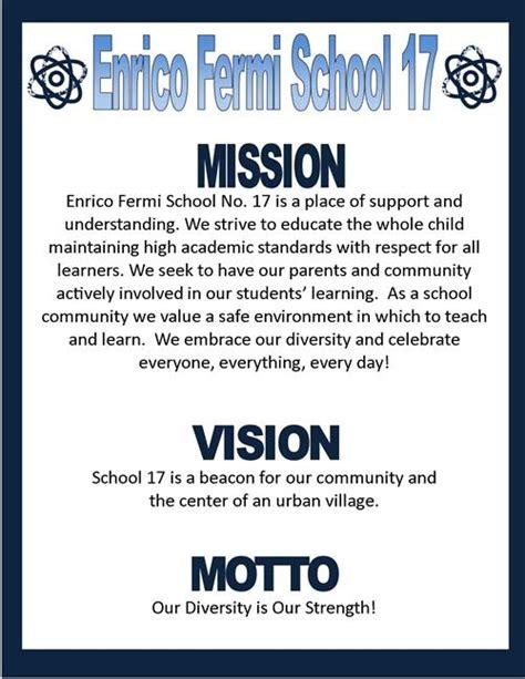 mission vision statements mission vision