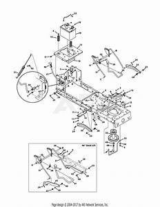 Mtd 13ao785t055  2011  Parts Diagram For Frame  U0026 Pto Lift