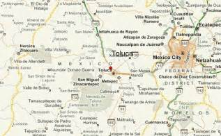 Toluca Mexico Map