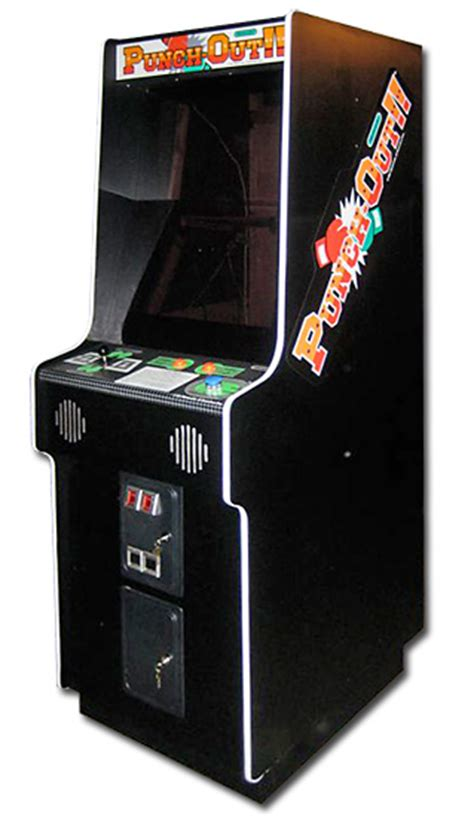 Punch Out Rental Classic Arcade Games Video Amusement