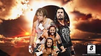 Dean Ambrose Roman Reigns and Usos