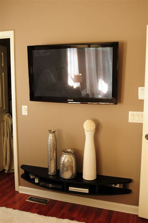 ideas  wall mount tv stand  pinterest tv