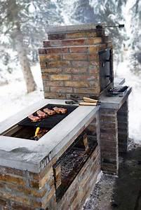 Cool, Diy, Backyard, Brick, Barbecue, Ideas