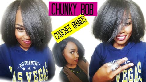 Chunky Bob No Cornrow Crochet Braids!