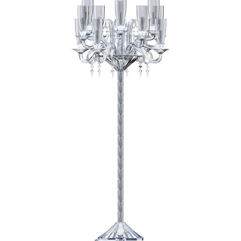 Floor L Glass Shade Holder by Cad And Bim Object Mille Nuits 12l Floor Candelabra