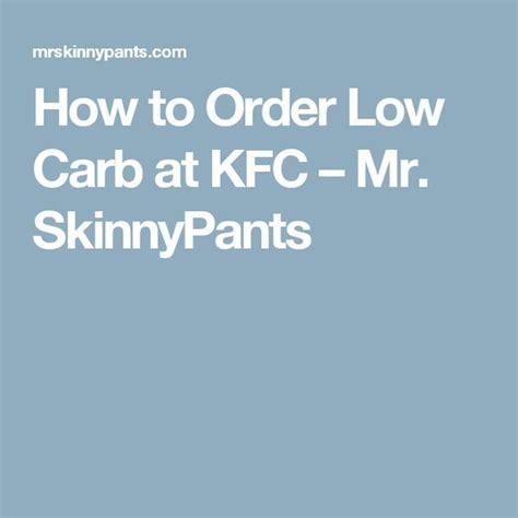 order  carb  kfc carbs  carb menus  carb