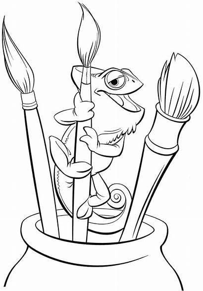 Tangled Coloring Pages Printable