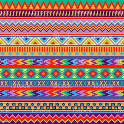 Mexican Folk Patterns Vector Culture Hispanic American