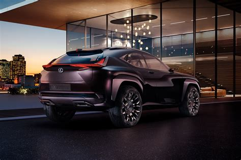 lexus ux crossover concept officially announced