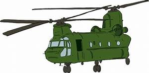 Chinook Helicopter Clip Art At Clker Com
