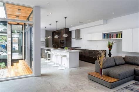 Offene Küche Wohnzimmer by Offene Kuche Wohnzimmer Ideen Frische Haus Design Ideen