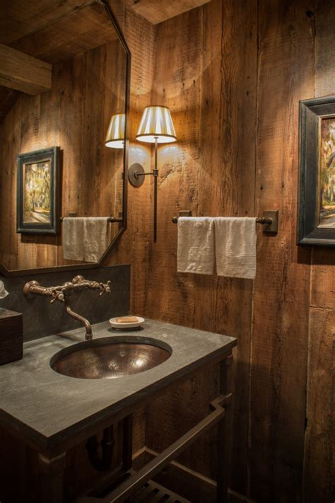Rustic Bathroom Design Ideas by 16 Homely Rustic Bathroom Ideas To Warm You Up This Winter