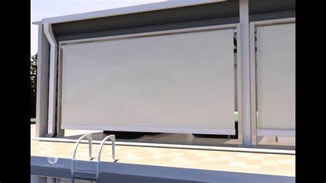 Outdoor Roller Blinds by Roller Blinds Diy Installation