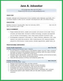 resume exles for objectives for students nursing student resume resume downloads