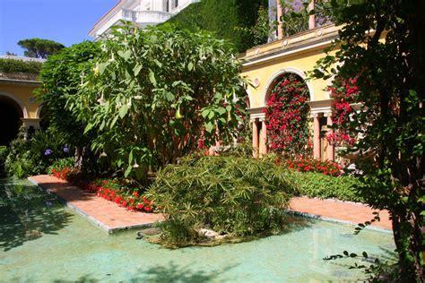 Der Garten Spanisch by St Jean Cap Ferrat Provence In Wort Und Bild
