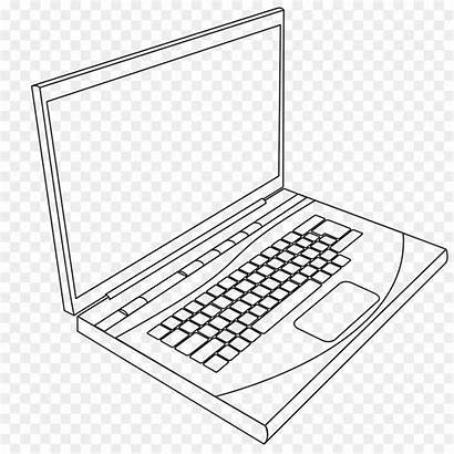 Keyboard Coloring Computer Laptop Pages Printable Getcolorings