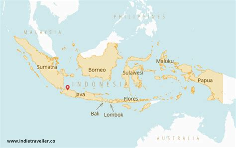 indonesia backpacking guide highlights maps