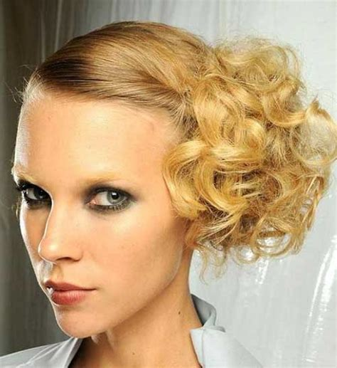 Updo Hairstyles For Curly Hair by 14 Hair Updo For Wedding Hairstyles 2018