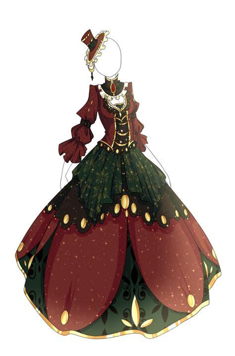 adoptable dress closed  springscent  deviantart